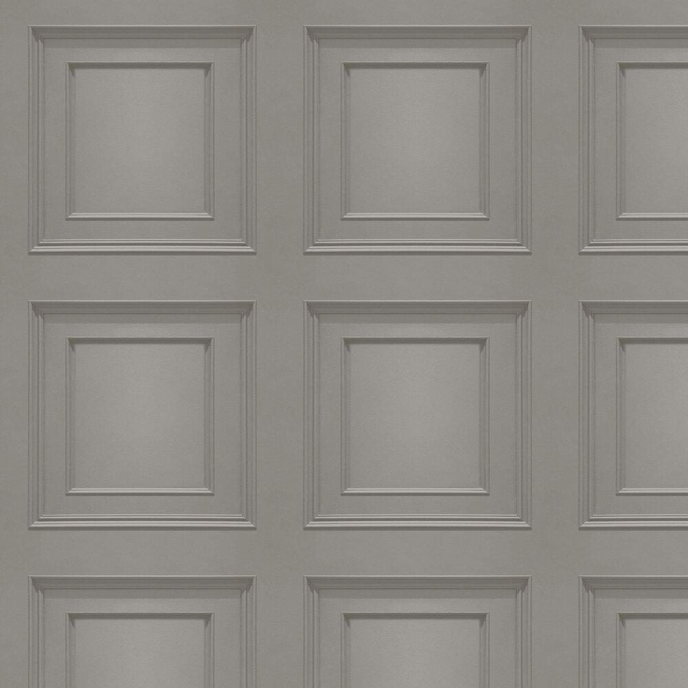 Amara Panel Wallpaper - Silver - by Albany
