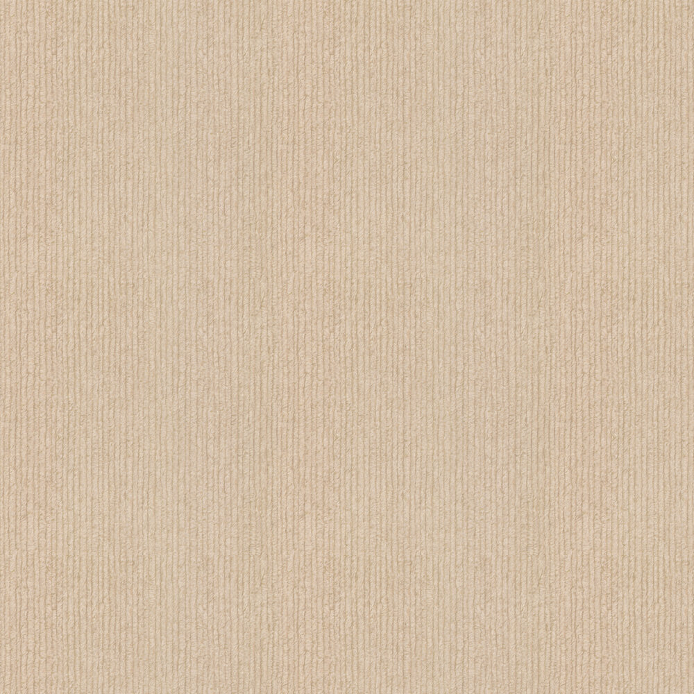 Embossed Stripes Wallpaper - Beige - by Albany