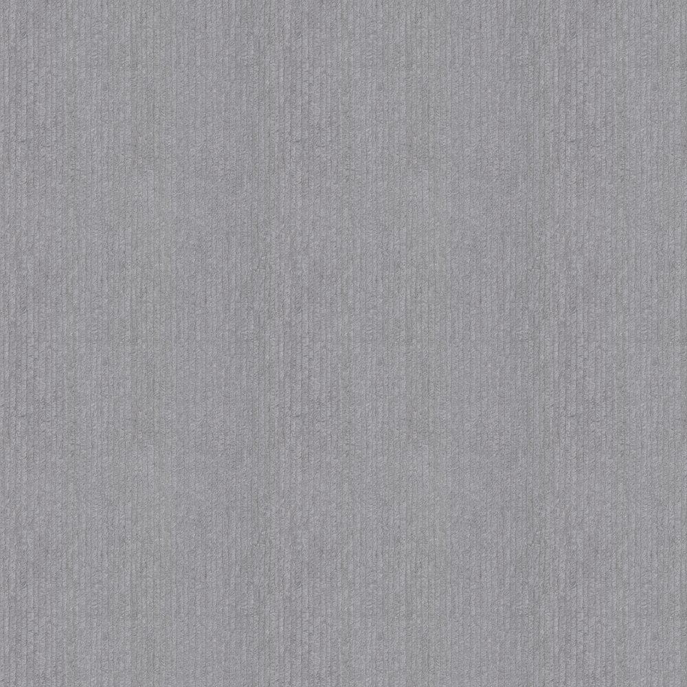 Embossed Stripes Wallpaper - Dark Grey - by Albany