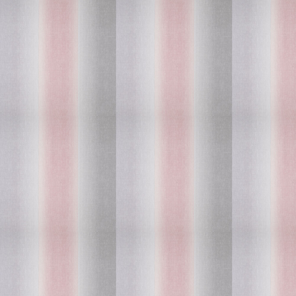 Kirby Stripe Wallpaper - Pink - by Albany