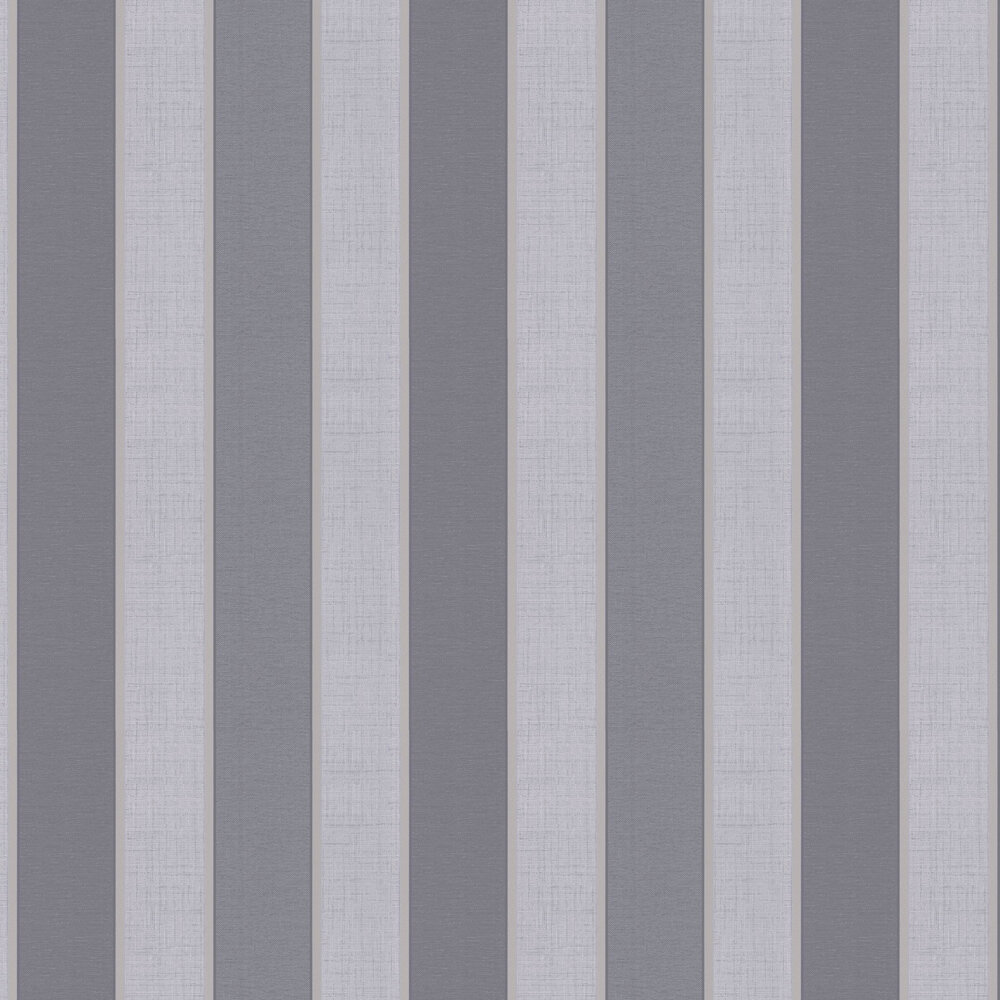 Larson Stripe Wallpaper - Slate - by Albany