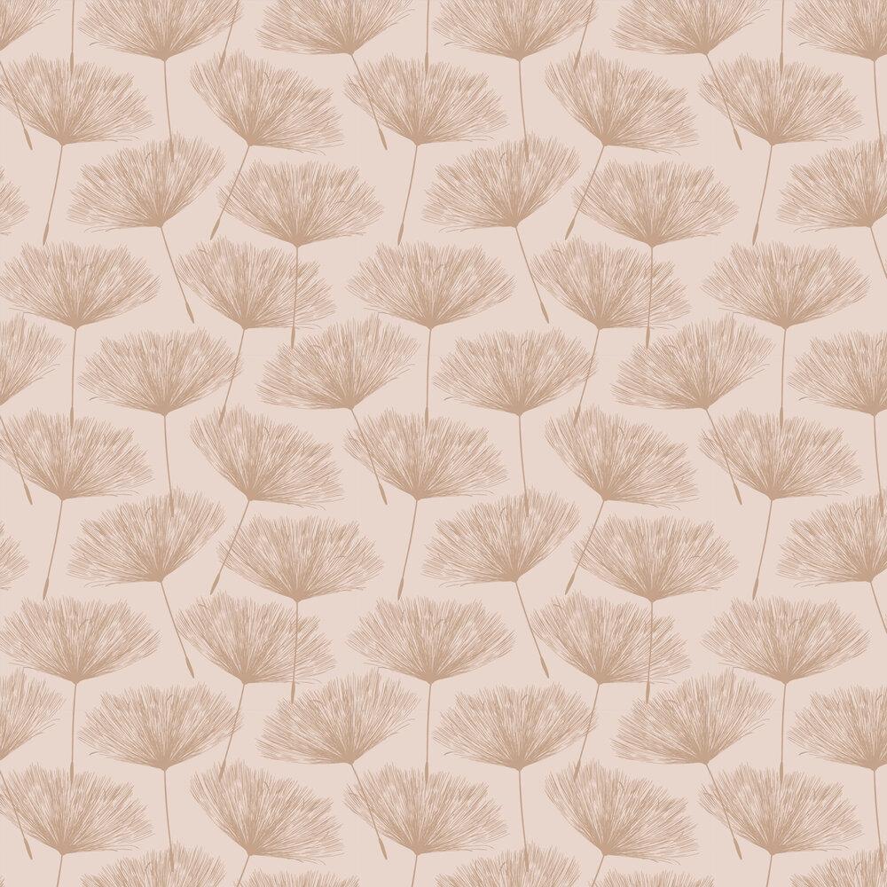 Glistening Fleur Wallpaper - Pink  - by Albany