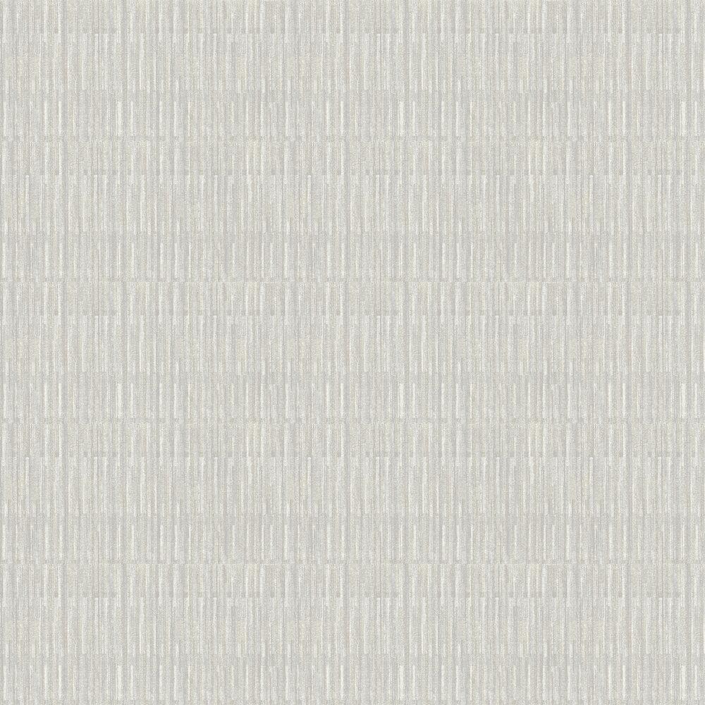Brixton Wallpaper - Grey - by A Street Prints