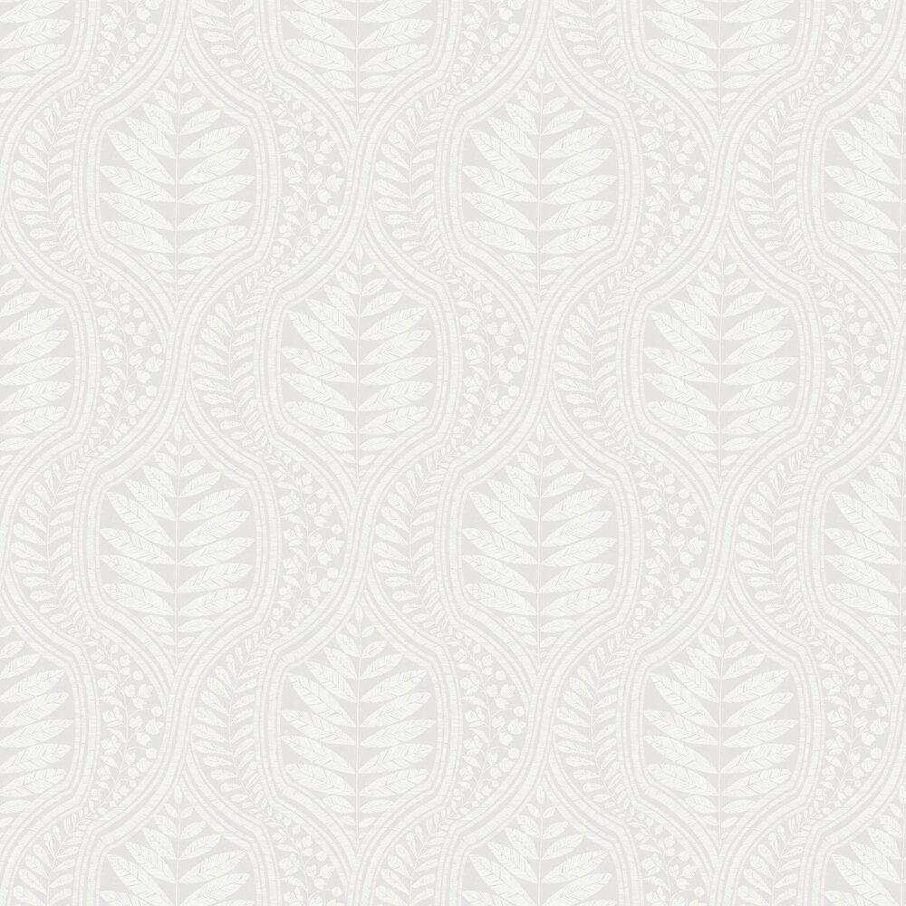 Juno Wallpaper - Light Grey - by A Street Prints