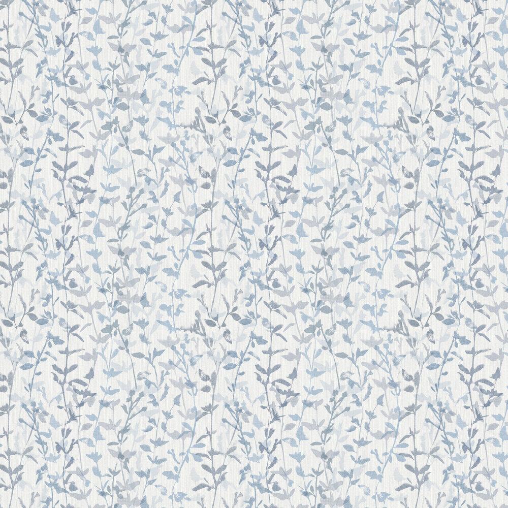 Thea Wallpaper - Blue - by A Street Prints