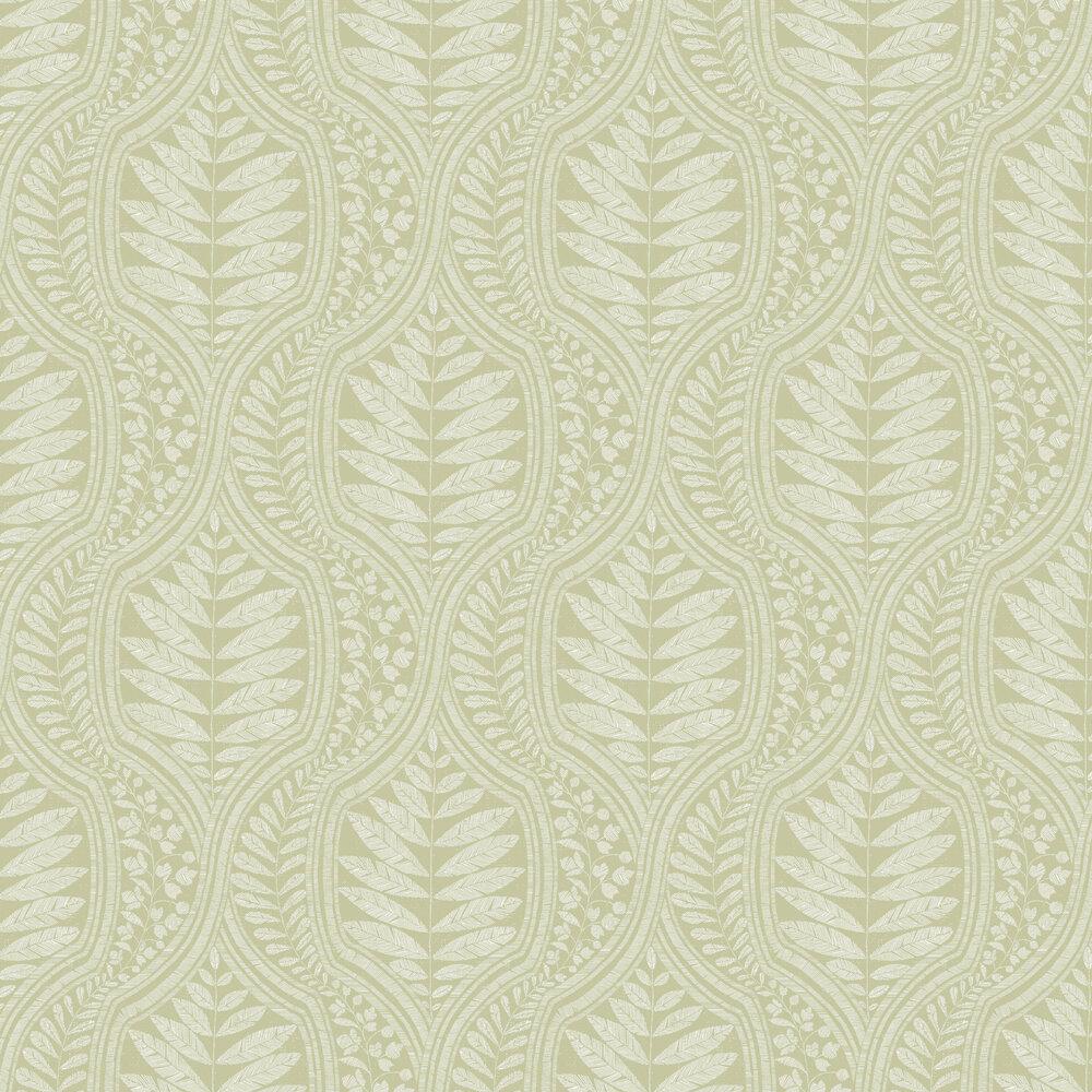 Juno Wallpaper - Green - by A Street Prints