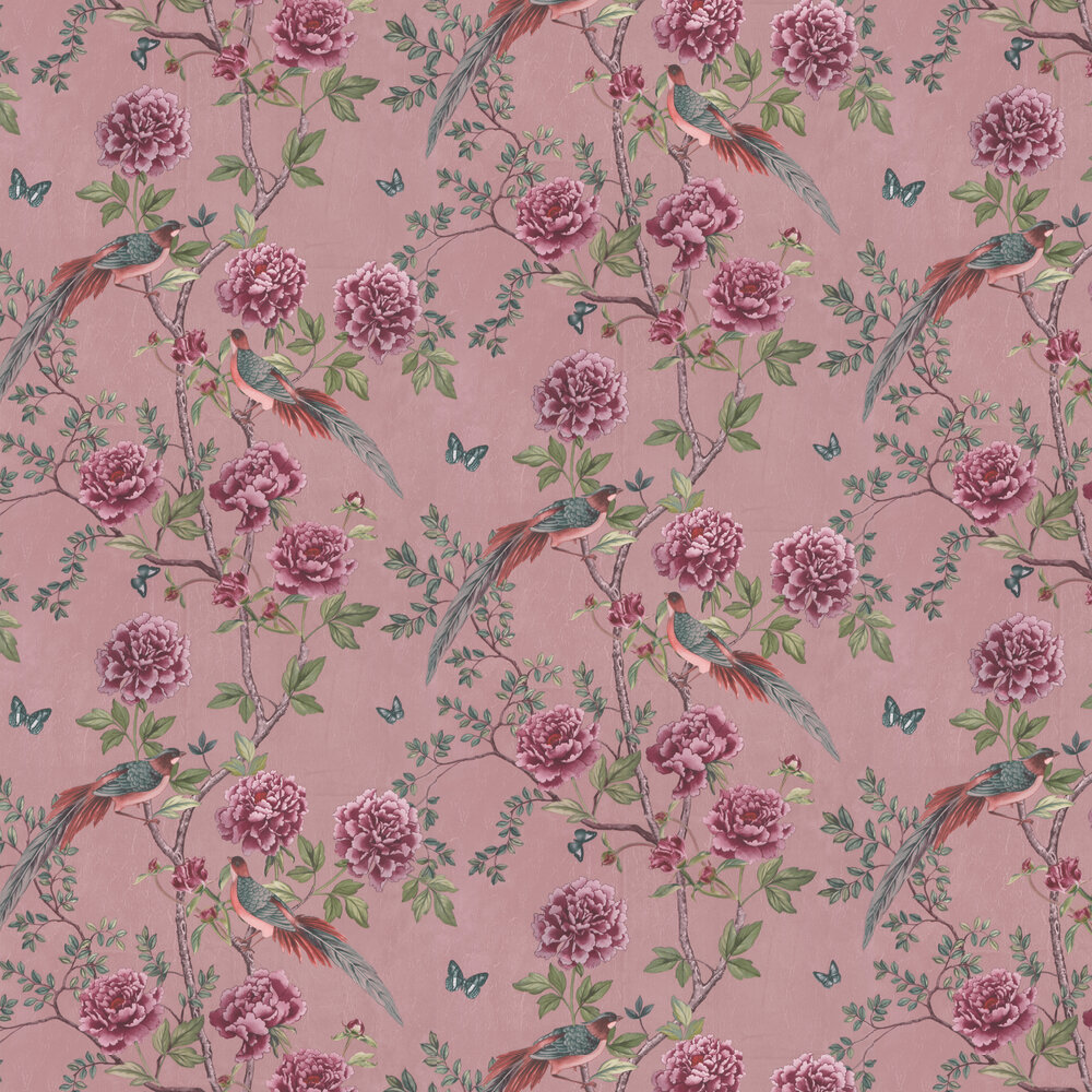 Vintage Chinoiserie Wallpaper - Blossom - by Paloma Home
