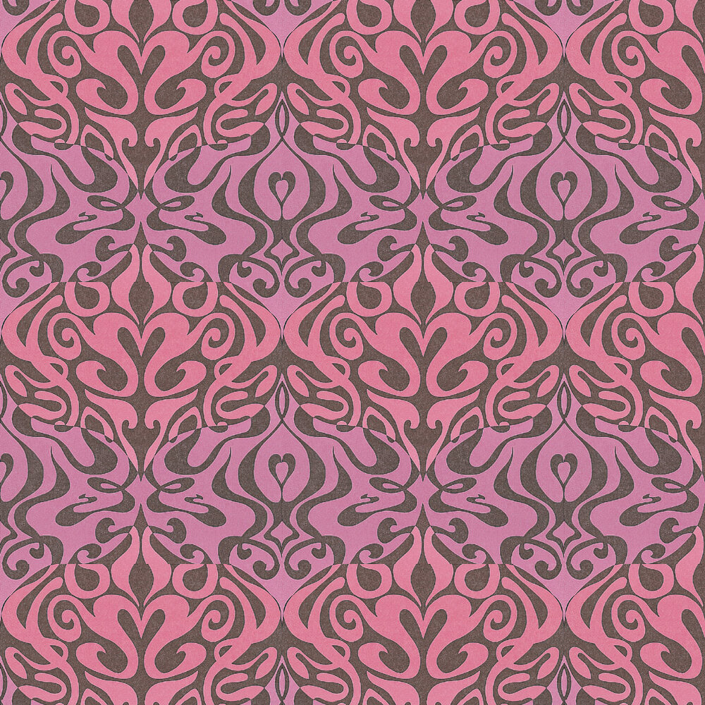 Cole & Son Woodstock Pink Wallpaper - Product code: 69/7125