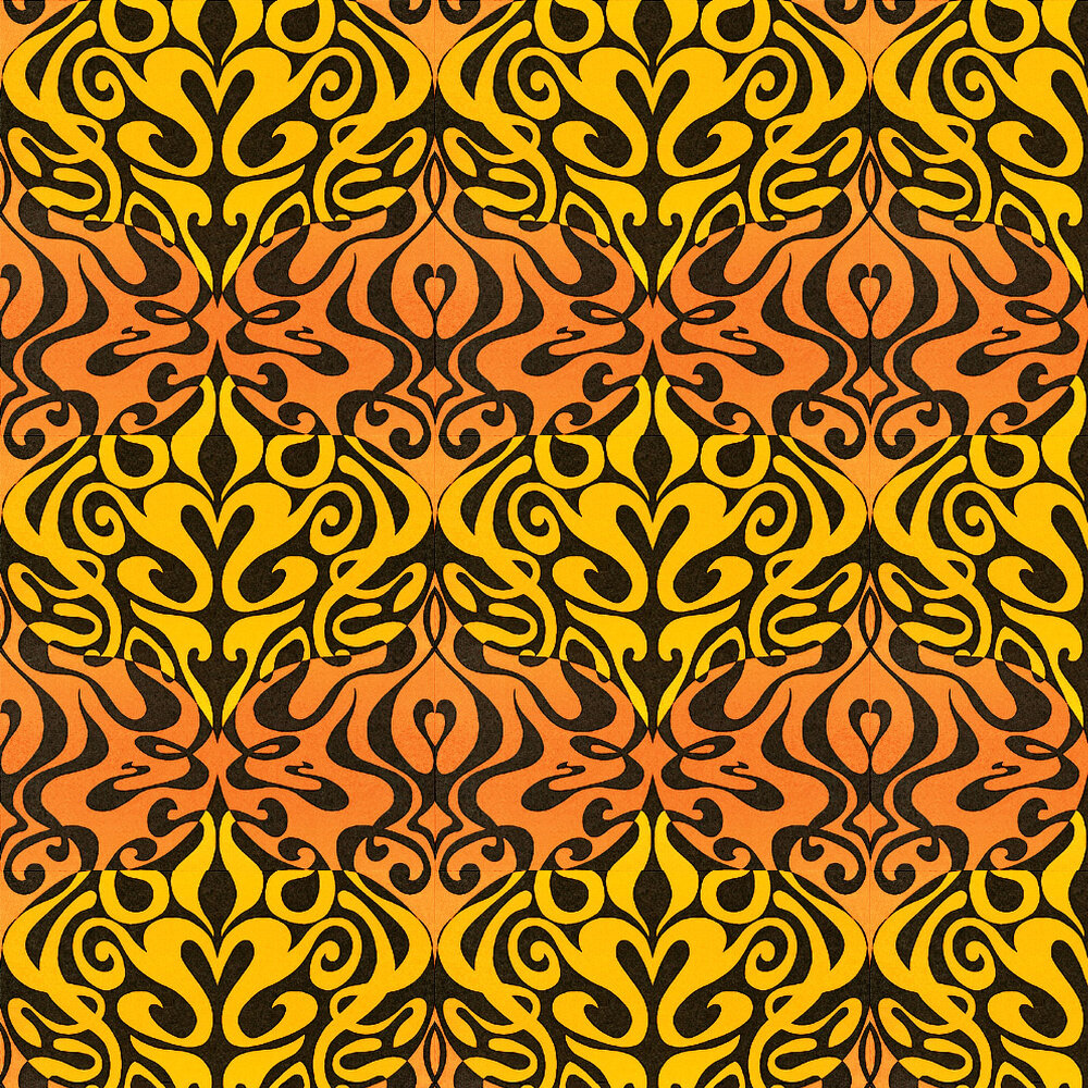 Woodstock Wallpaper - Yellow - by Cole & Son