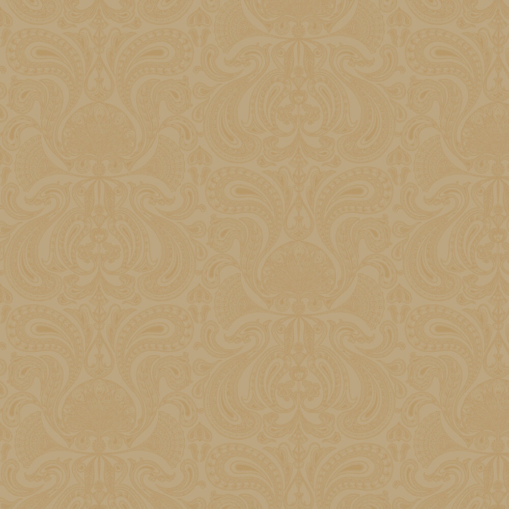 Malabar Wallpaper - Gold - by Cole & Son