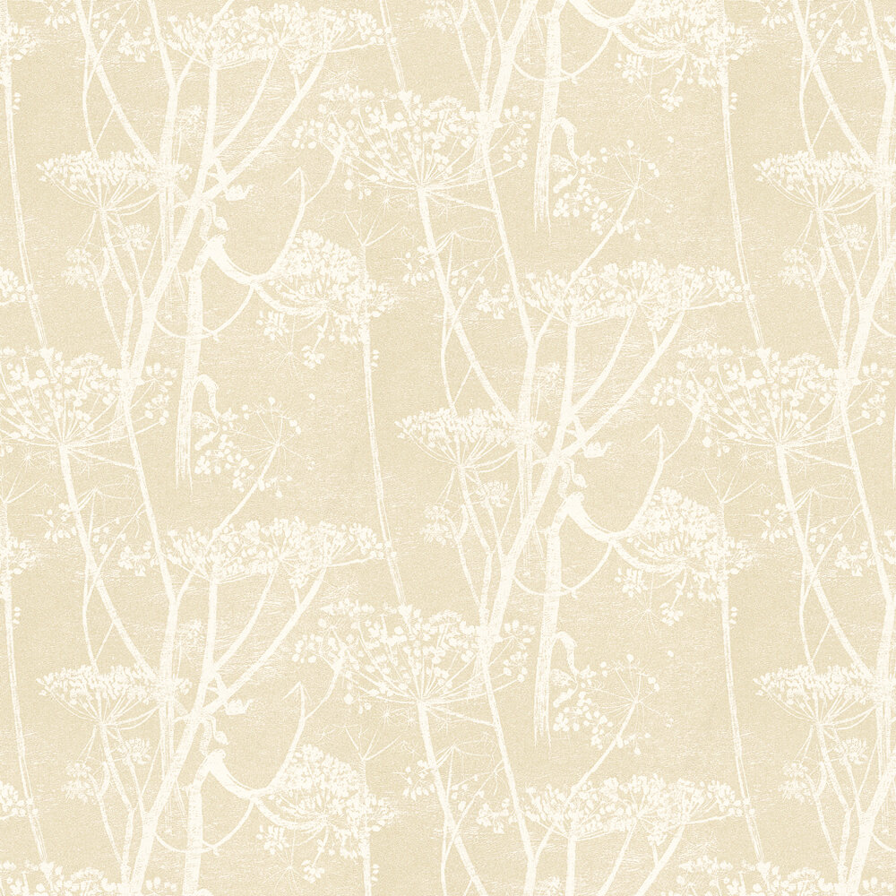 Cow Parsley Wallpaper - Beige - by Cole & Son