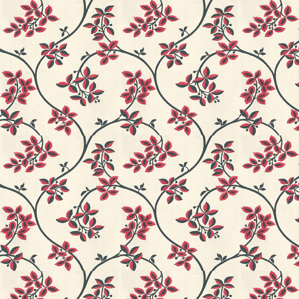 Ringwold Wallpaper - Raspberry - by Farrow & Ball