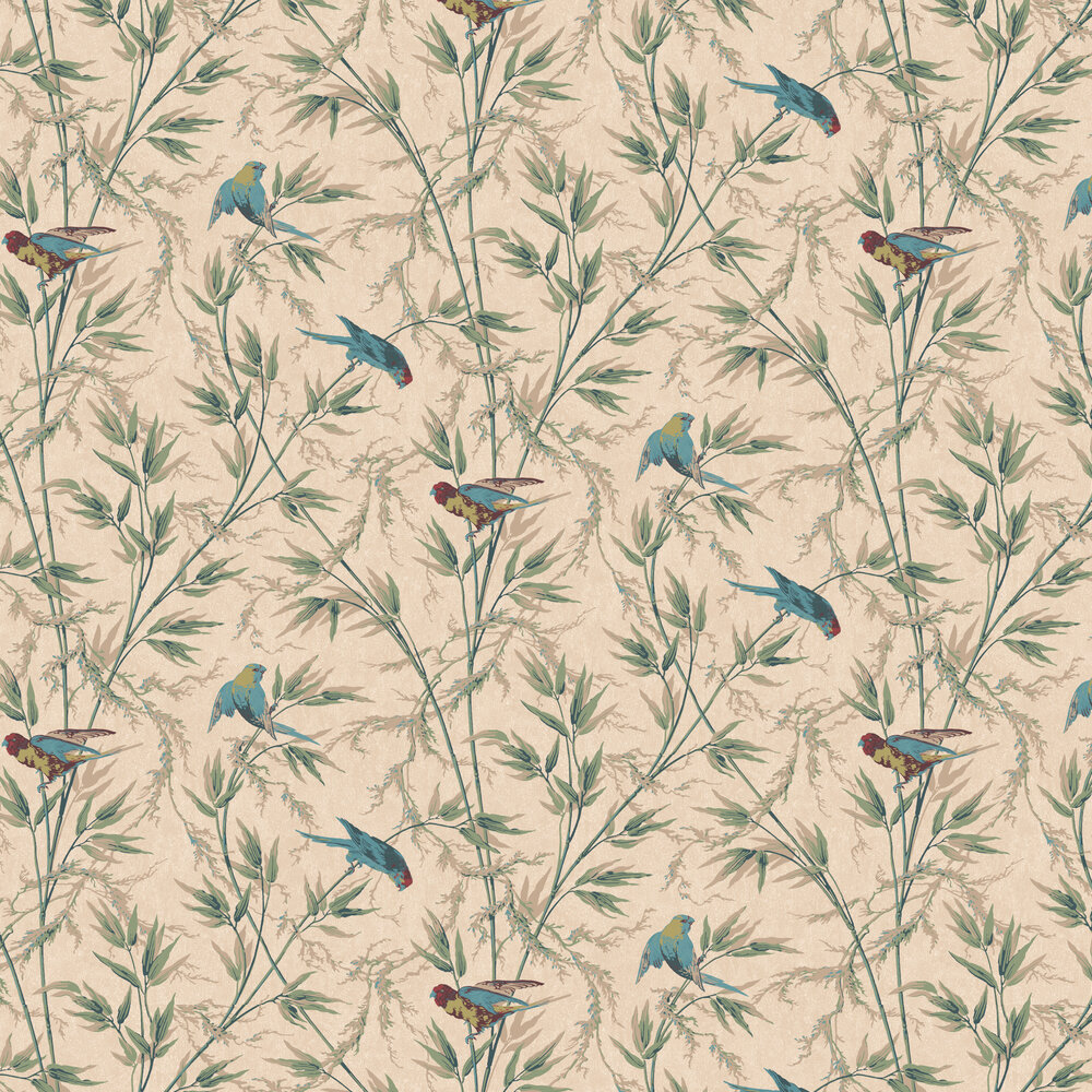 Little Greene Great Ormond St Green Wallpaper - Product code: 0251GOPARCH