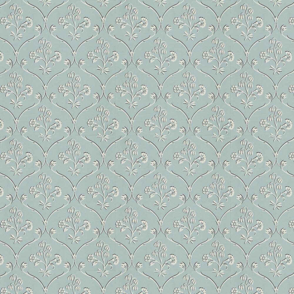 Little Greene Cranford Sky Blue Wallpaper - Product code: 0251CRSKYBL