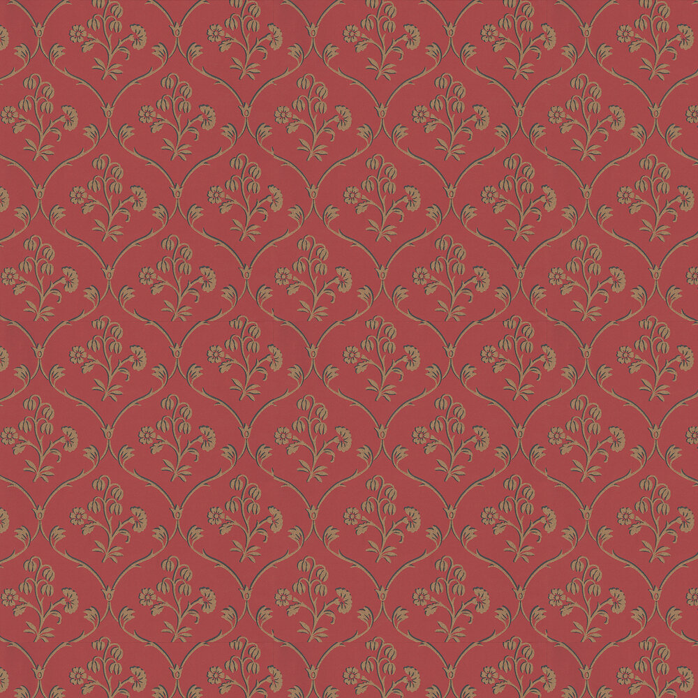 Little Greene Cranford Cherry Wallpaper - Product code: 0277CFCHERR