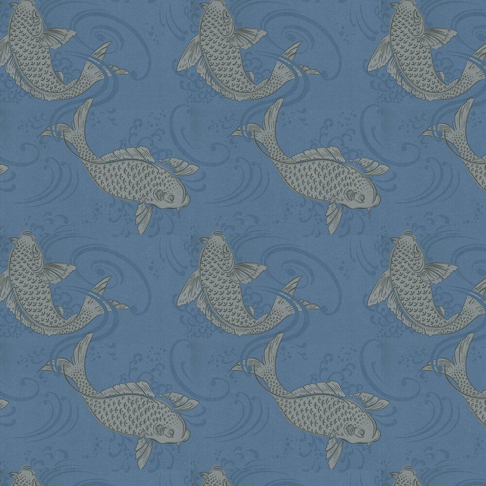 Derwent By Osborne Little Silver Blue Wallpaper W5796 05