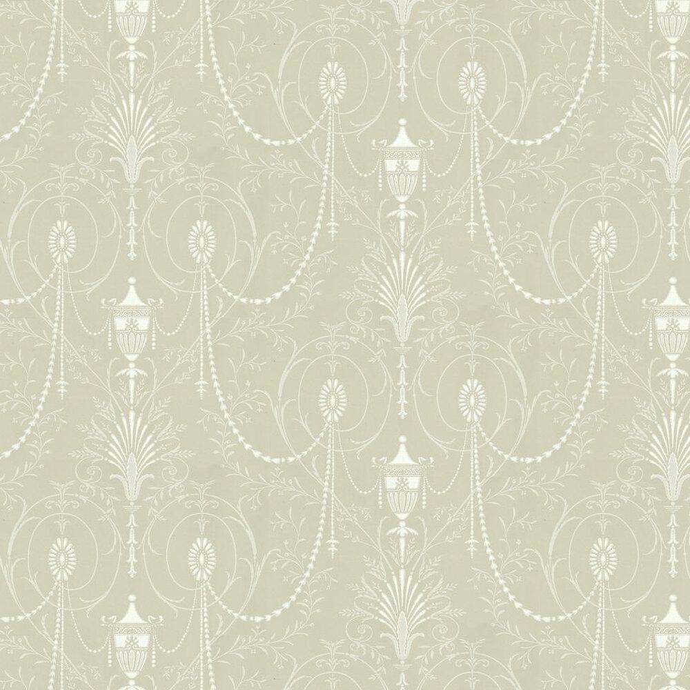 Little Greene Marlborough Paris Grey Wallpaper - Product code: 0273MAPARIS