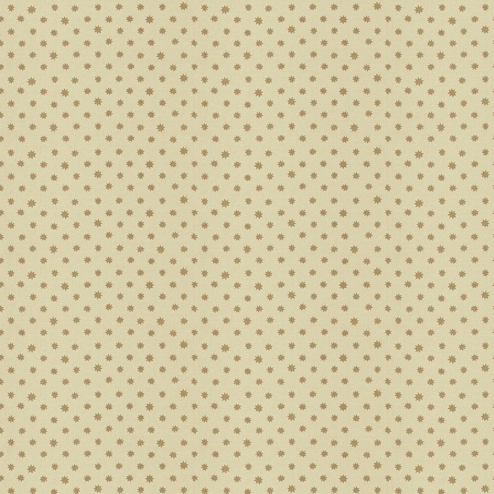 Lower George Street Wallpaper - Gold / Cream - by Little Greene
