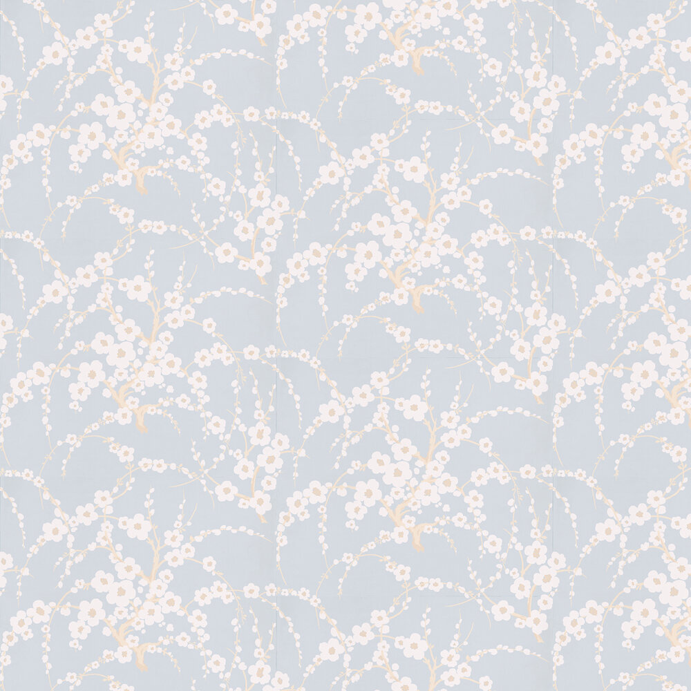Laura Ashley Lori  Duck Egg Wallpaper - Product code: 3466537