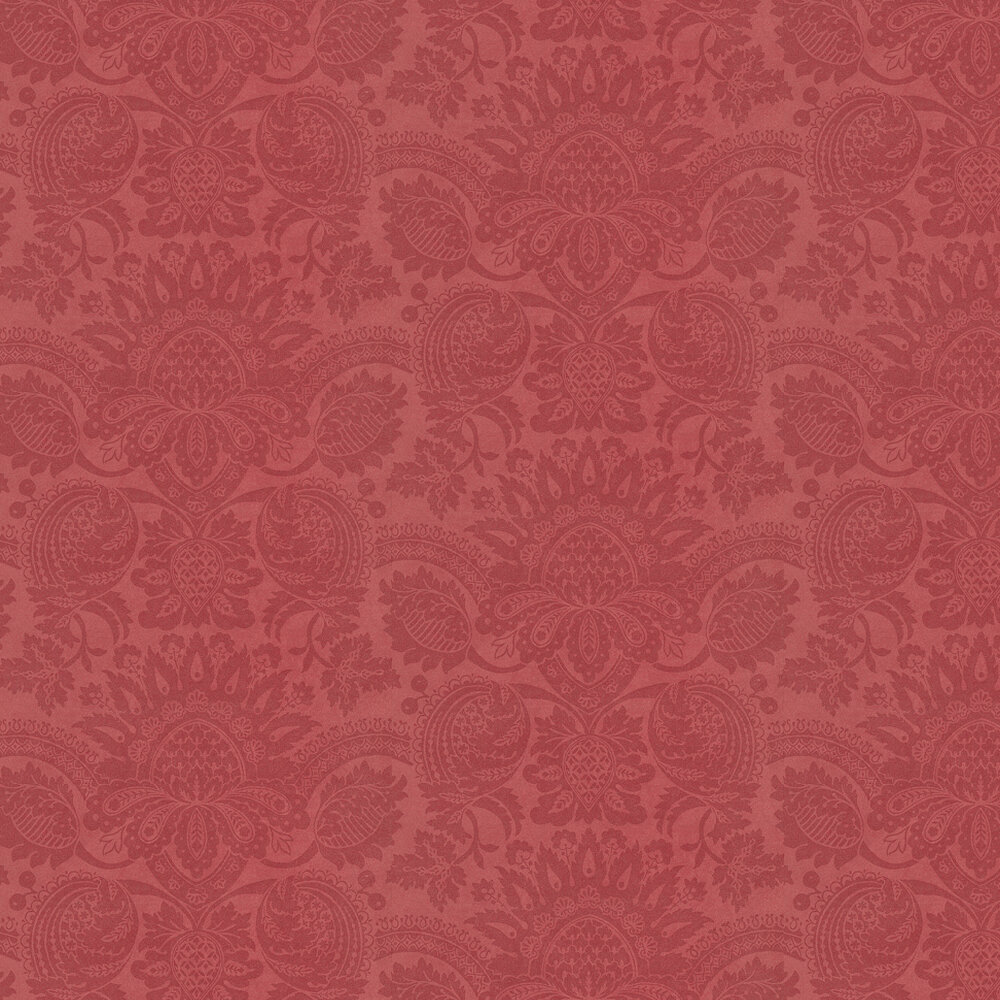 Zoffany Pomegranate Red Wallpaper - Product code: ZCDW01002