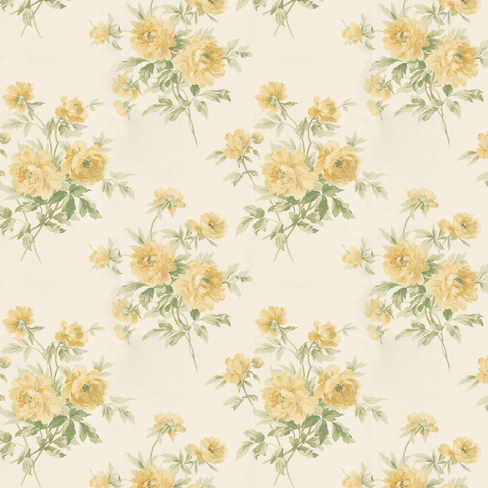 Sanderson Adele Yellow Wallpaper - Product code: DCAVAD102