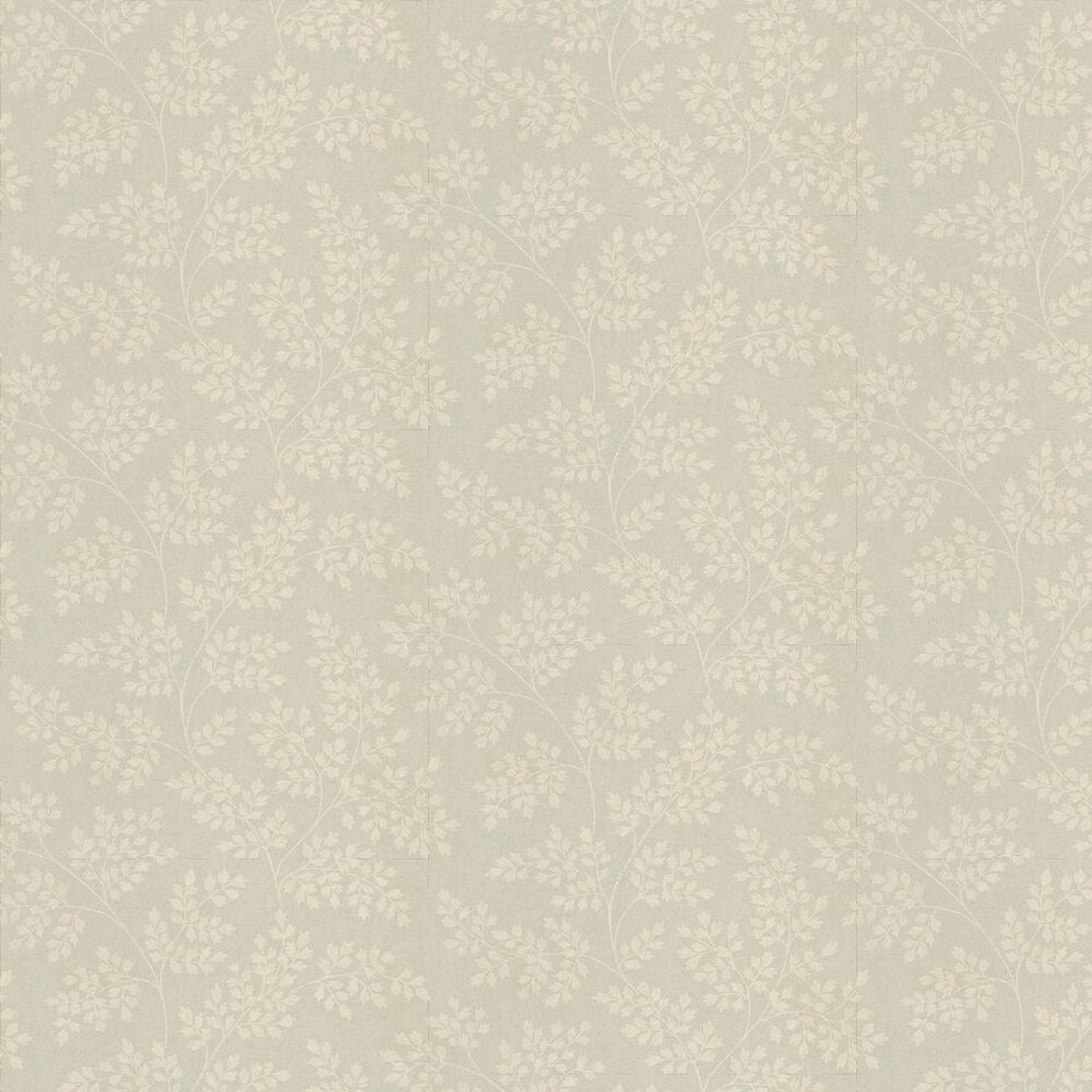 Sanderson Coralie Cream / Eau De Nil Wallpaper - Product code: DCAVCO101
