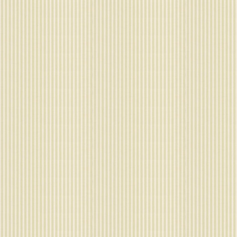 Sanderson New Tiger Stripe Green / Cream Wallpaper - Product code: 211712