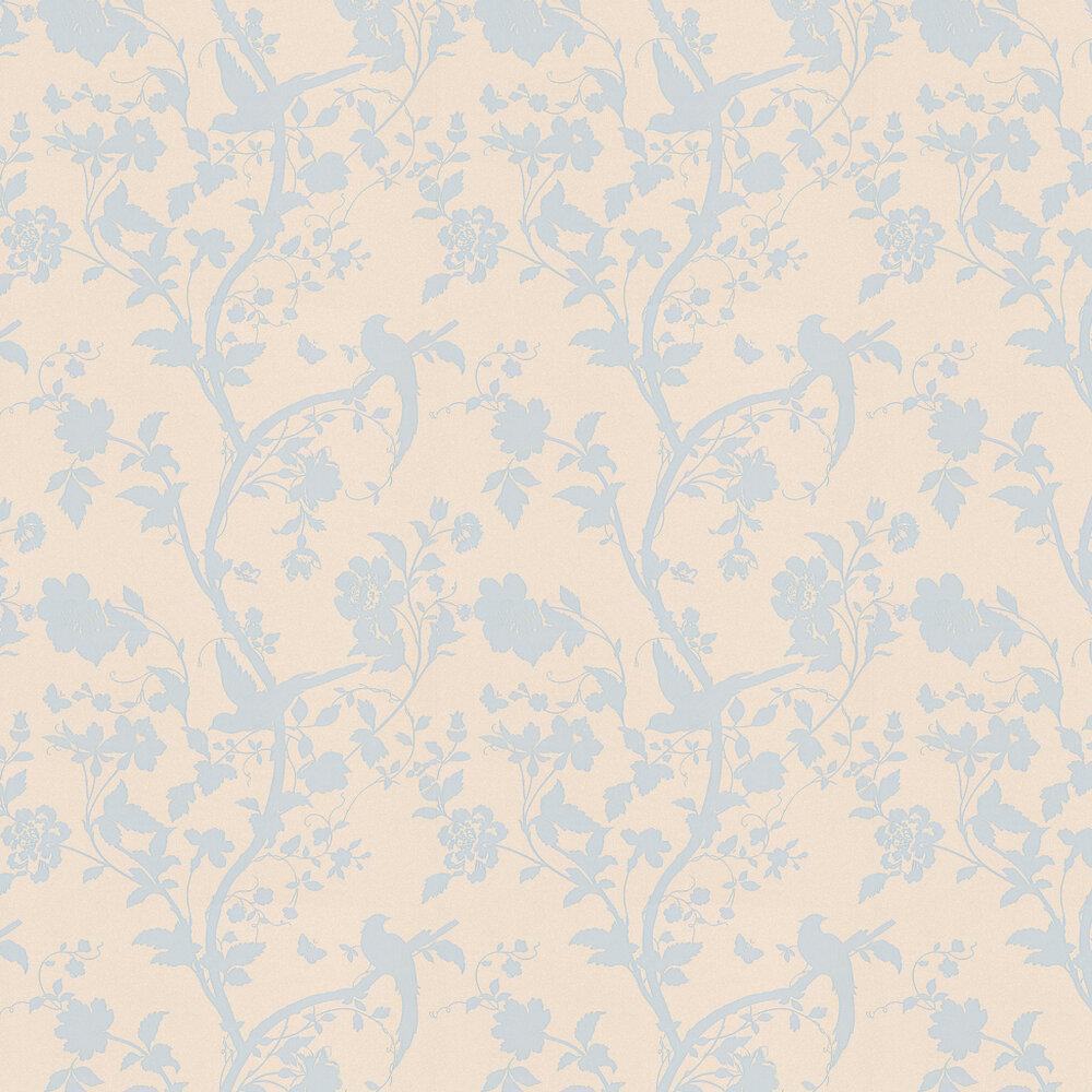 Laura Ashley Oriental Garden  Duck Egg Wallpaper - Product code: 3308213