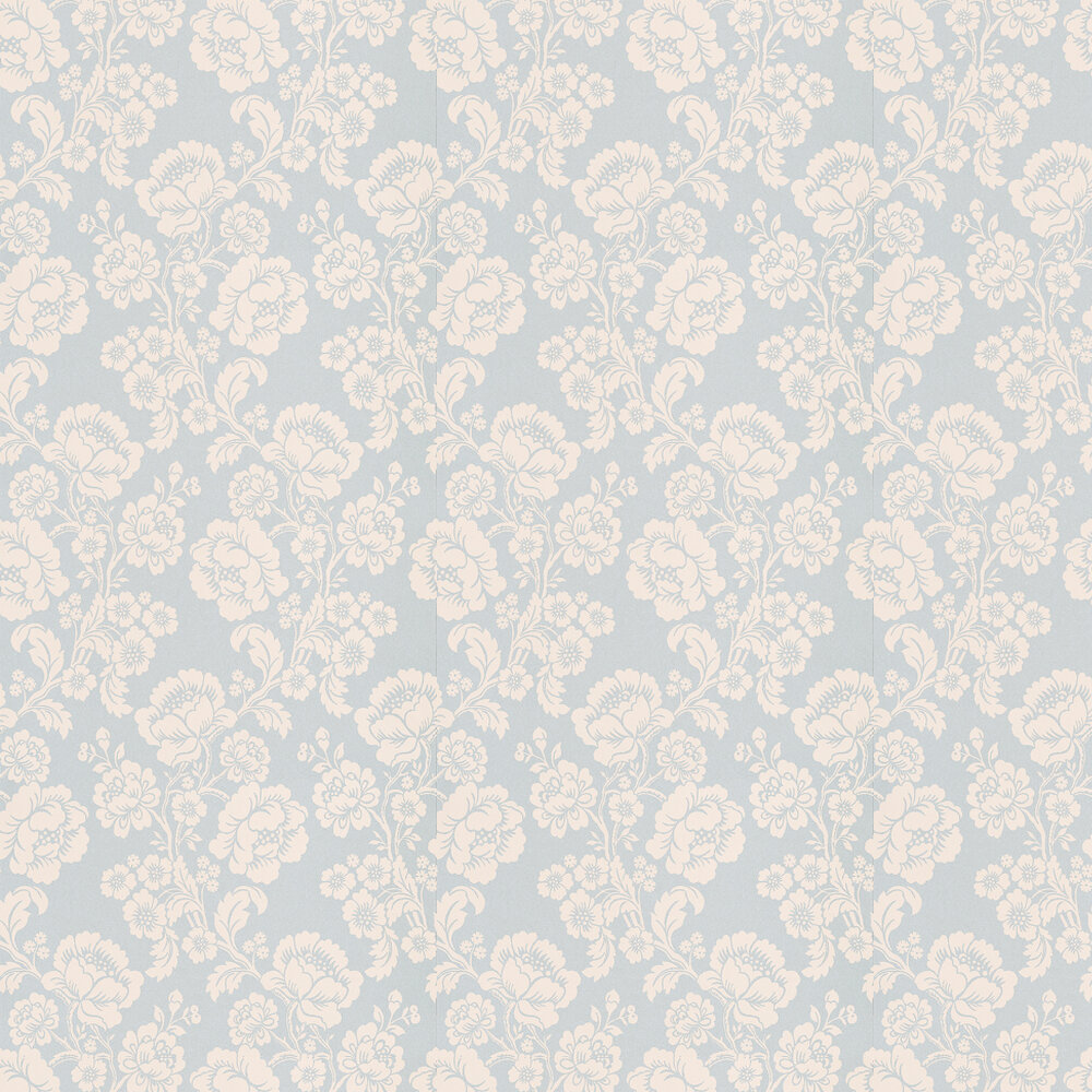 Laura Ashley St Germain  Duck Egg Wallpaper - Product code: 3453163