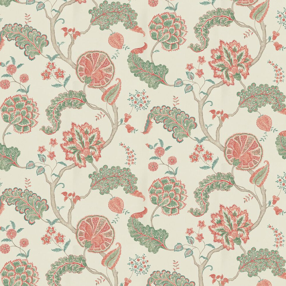 Sanderson Palampore Green/Red Green / Red Wallpaper - Product code: DCAVPA101