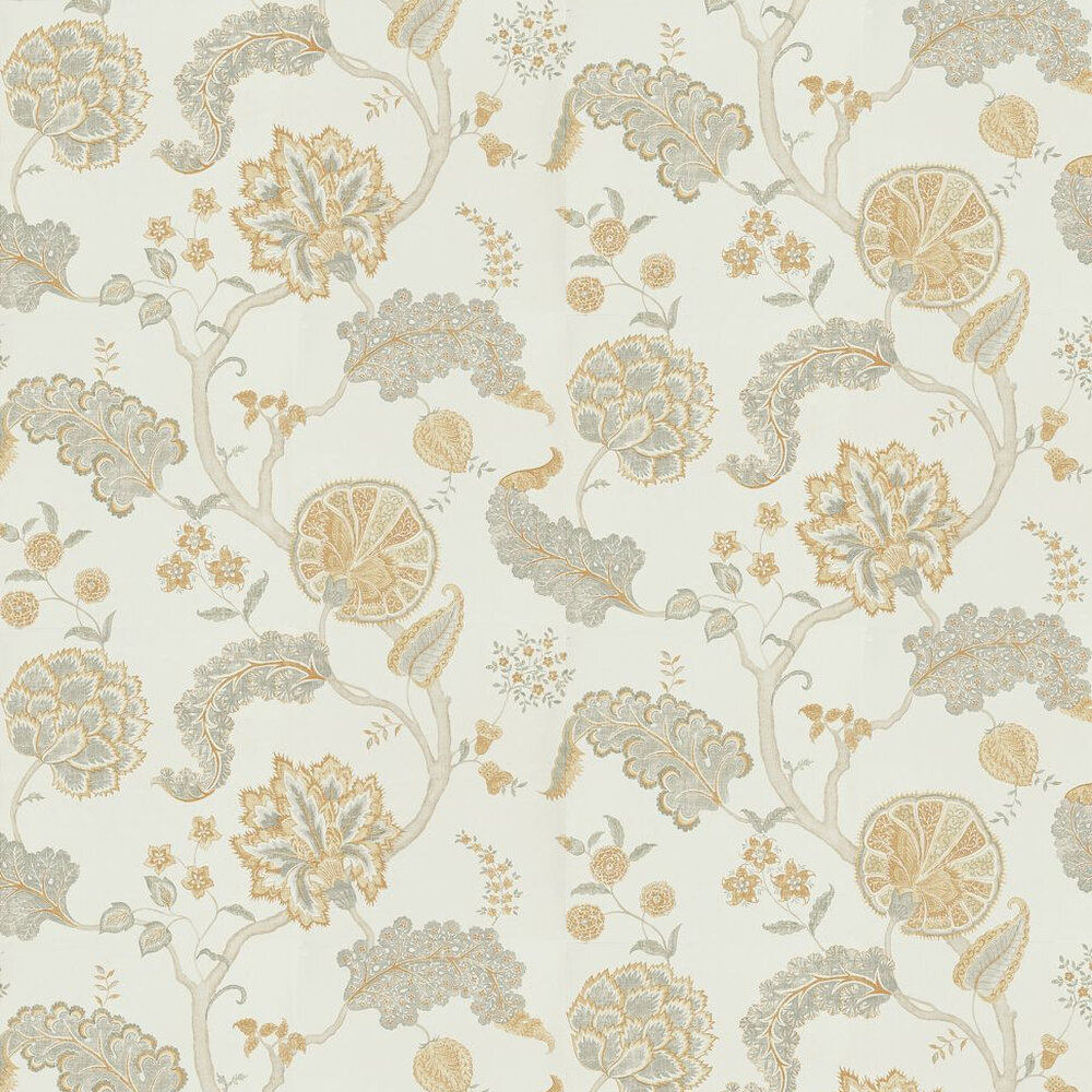 Sanderson Palampore Silver/Gold Silver / Gold Wallpaper - Product code: DCAVPA105