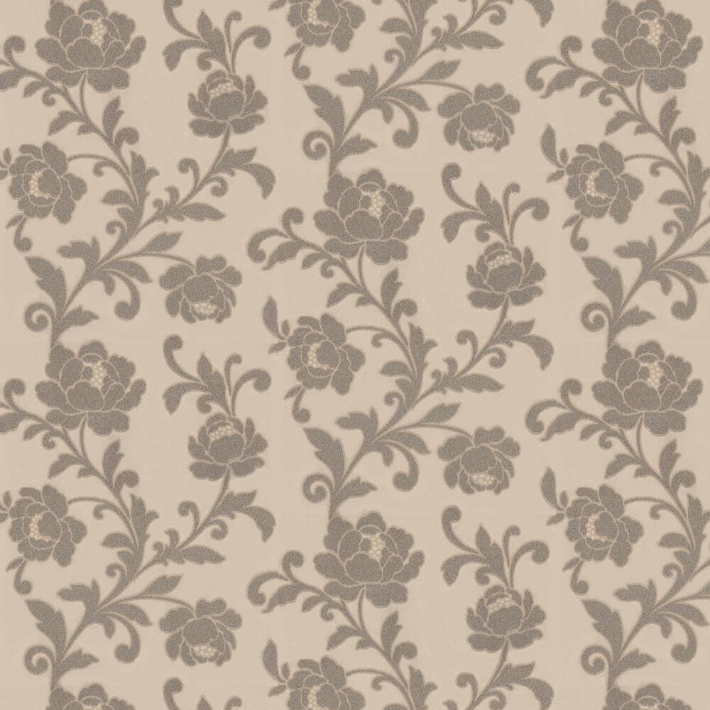 Kelway Beaded Wallpaper  - Light Gold / Silver - by Kandola