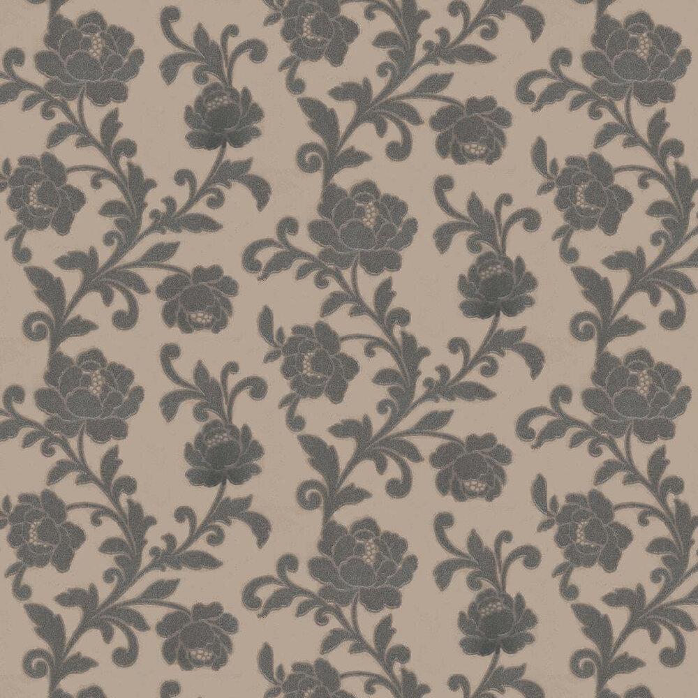 Kandola Kelway Beaded Wallpaper  Metallic Taupe - Product code: W1484/02