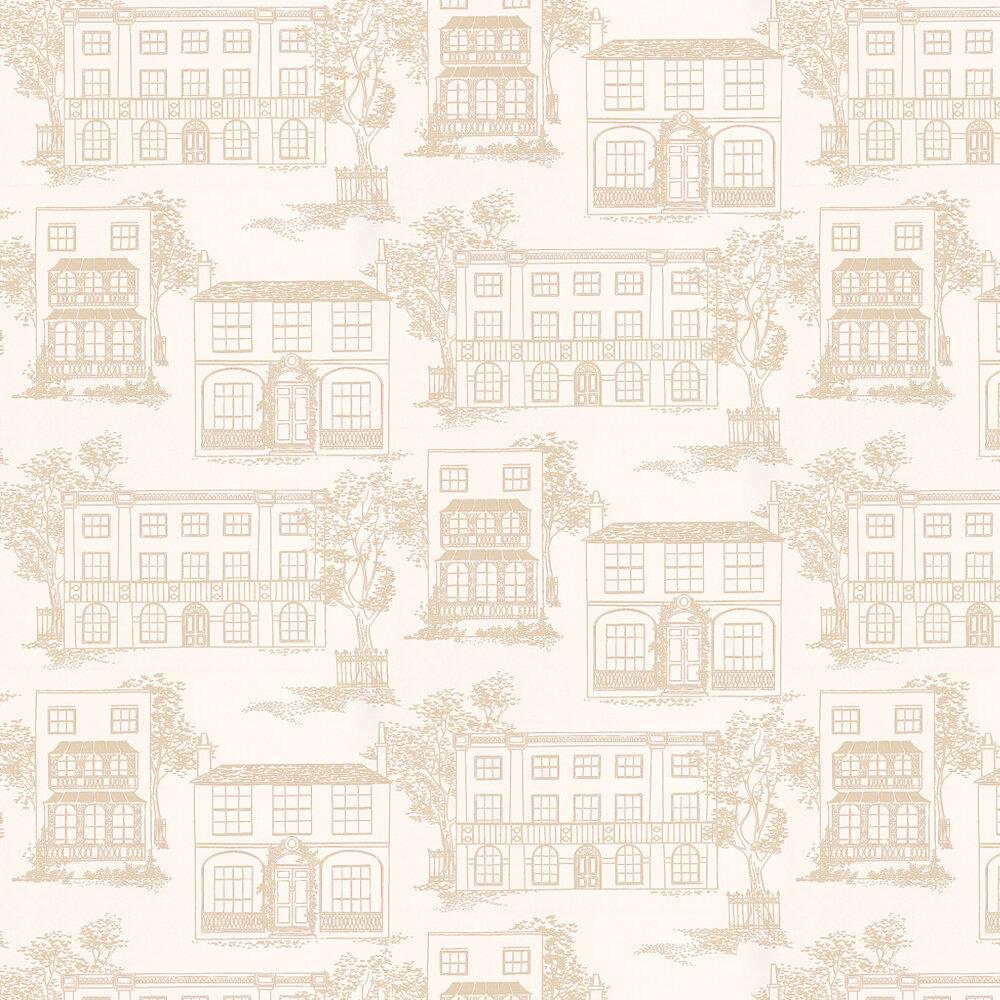 Little Greene Hampstead Cloister Beige Wallpaper - Product code: 0271HACLOIS