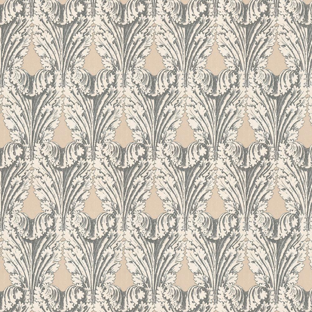 Osborne & Little Accademia Beige / Silver Wallpaper - Product code: W6177/04