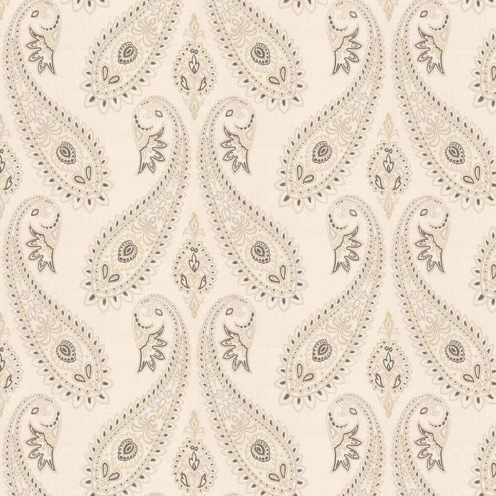 Osborne & Little Nizam Ivory / Taupe Wallpaper - Product code: W6179/03