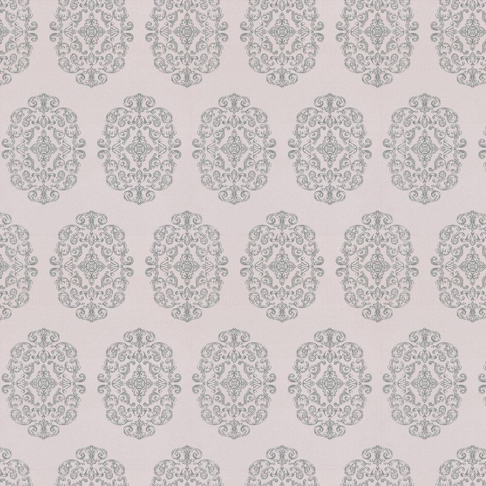 Osborne & Little Zecca Silver / Lilac Wallpaper - Product code: W6180/01