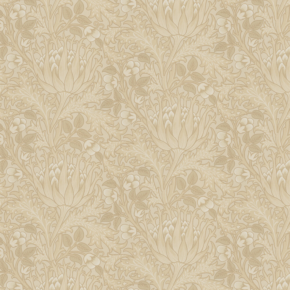 Morris Artichoke Stone Grey Wallpaper - Product code: 210353
