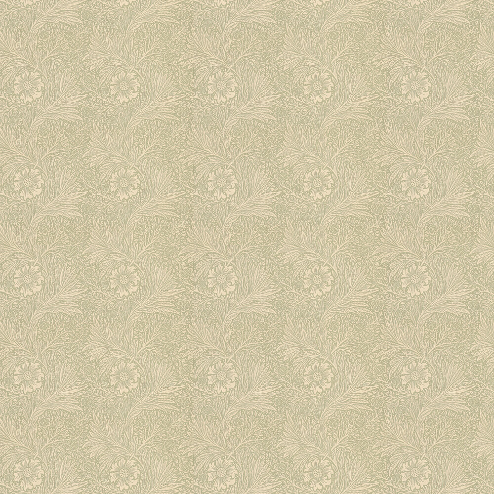 Marigold Wallpaper - Artichoke - by Morris