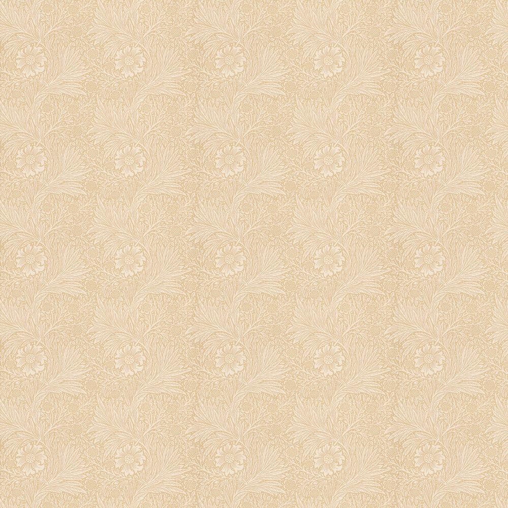 Marigold Wallpaper - Cream / Peach - by Morris