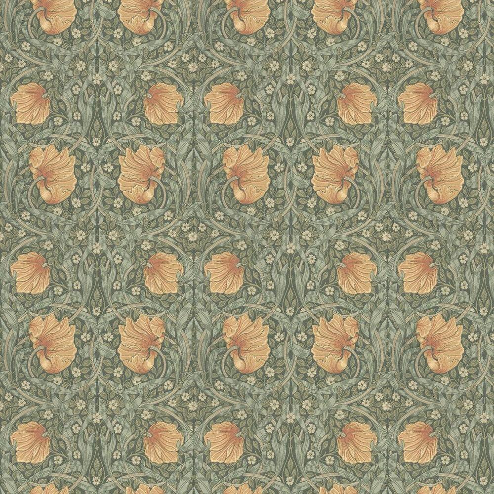 Pimpernel Wallpaper - Bayleaf / Manilla - by Morris