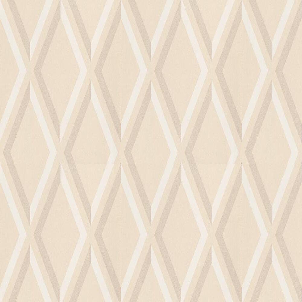 Pompeian Wallpaper - White / Beige / Cream - by Cole & Son