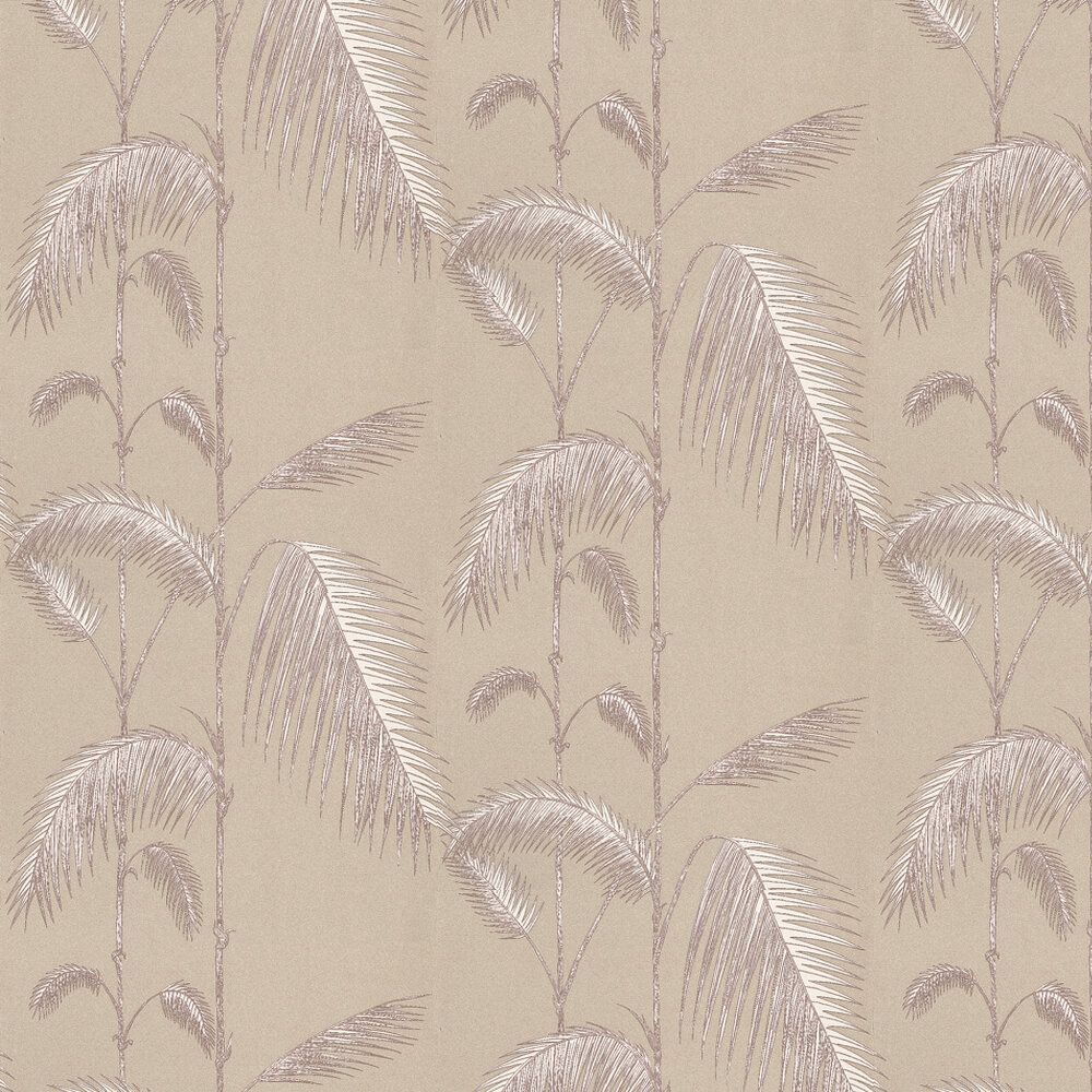 Palm Leaves By Cole Son White Beige Wallpaper Wallpaper