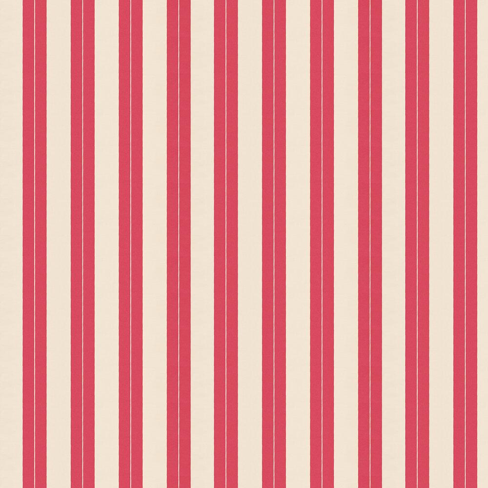 Boyton Wallpaper - Pink - by William Yeoward