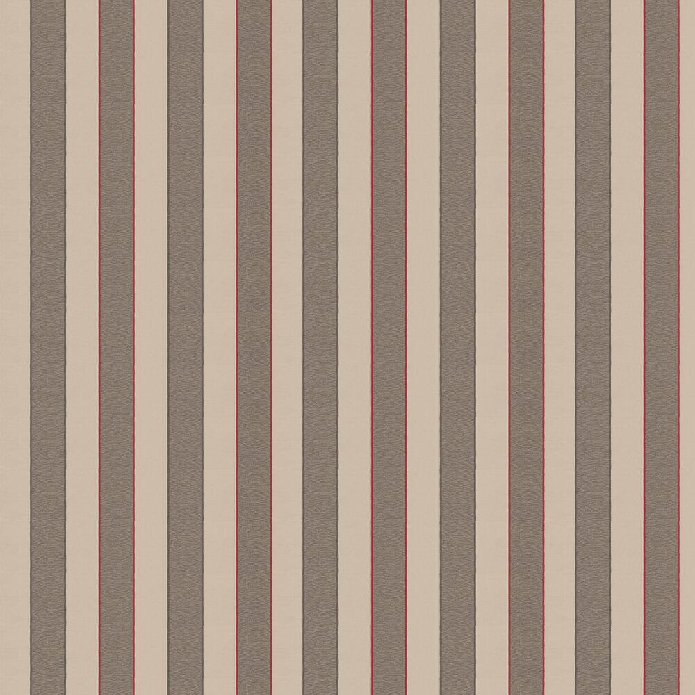 Warleggan Wallpaper - Brown - by William Yeoward