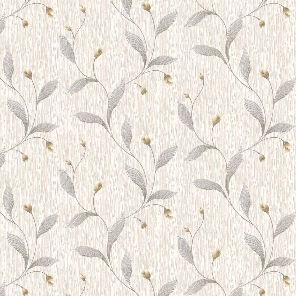 Tiffany Platinum Wallpaper - Silver - by Albany