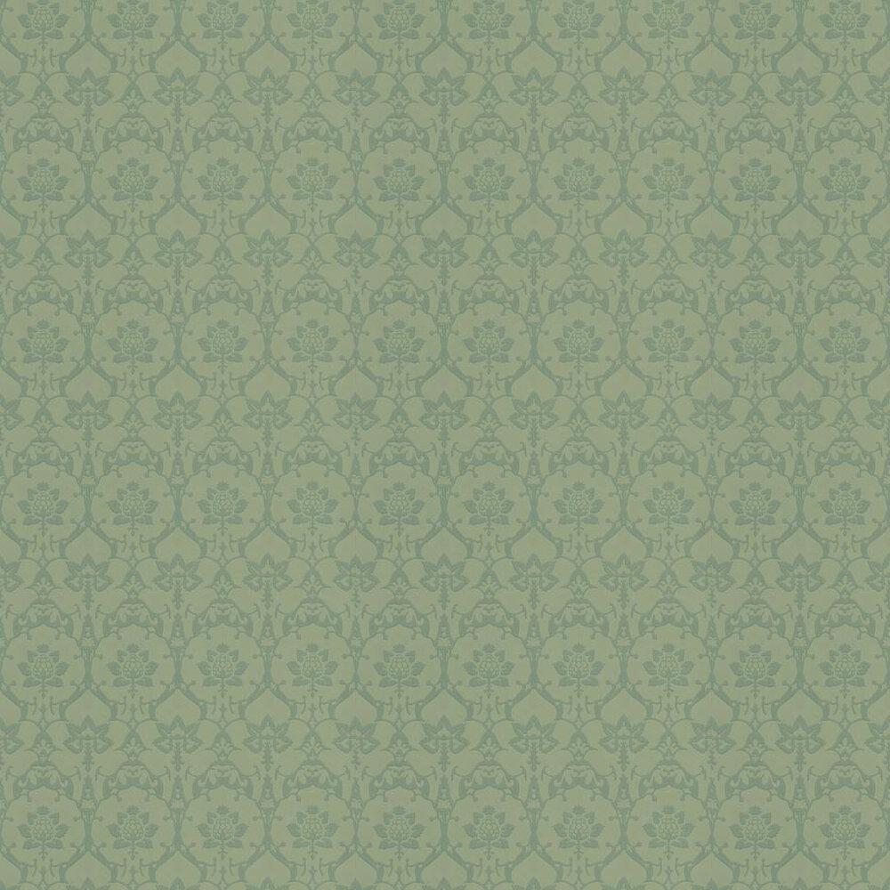 Farrow & Ball Brocade Green Wallpaper - Product code: BP 3207