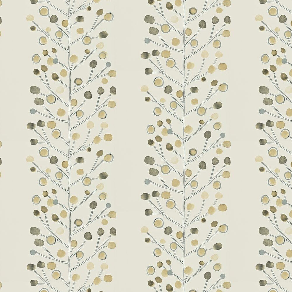 Berry Tree Wallpaper - Beige / Off White - by Scion