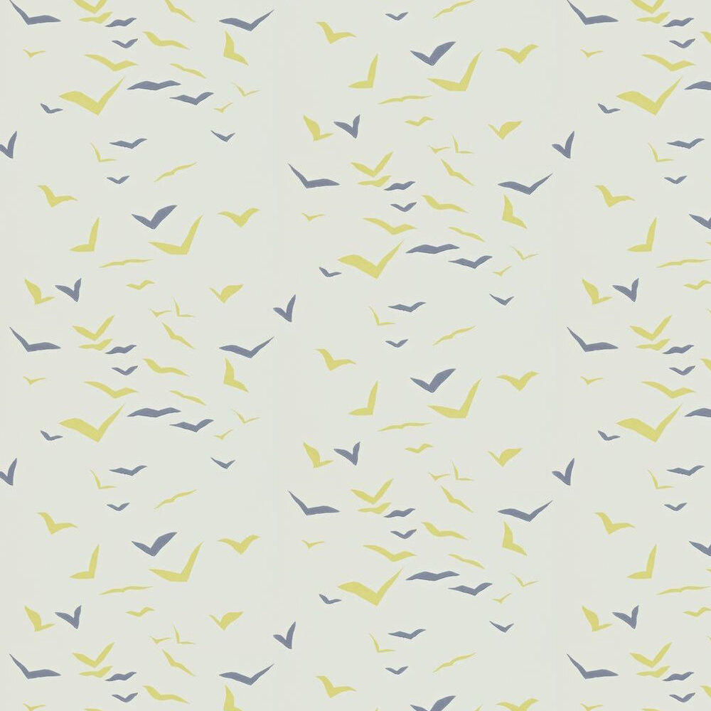 Scion Flight Blue / Lime Wallpaper - Product code: 110209