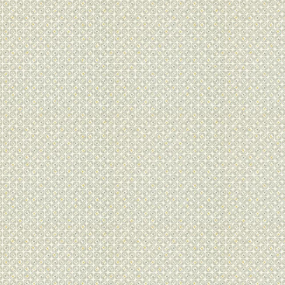 Scion Miro Grey / Cream Wallpaper - Product code: 110234